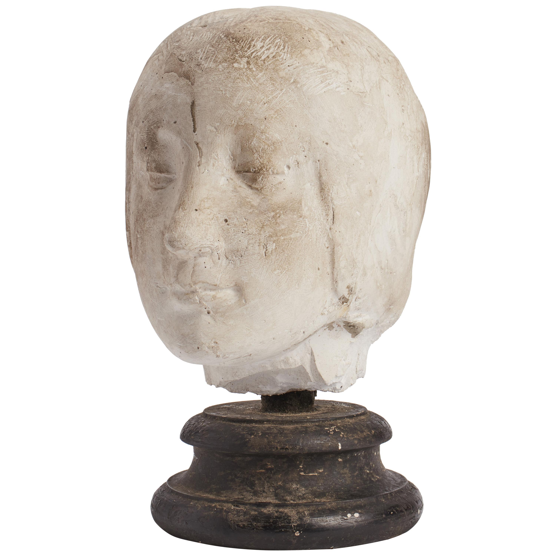 Academic Cast Depicting Eleonora D'aragona Head, Italy, 1890