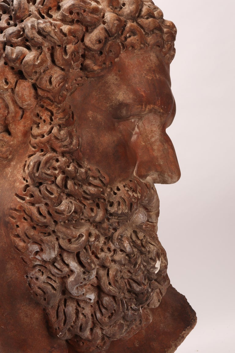 Late 19th Century Academic Cast Depicting Hercules Head, Italy, 1880 For Sale