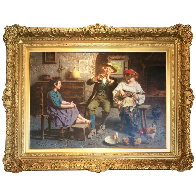 """""""An Afternoon of Music"""" by Eugenio Zampighi"""