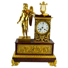 Allegorical French Empire Clock Representing the Art of War