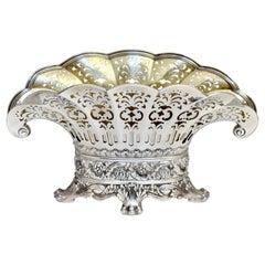 An American Silver Center-Piece Vase, Tiffany & Co.,