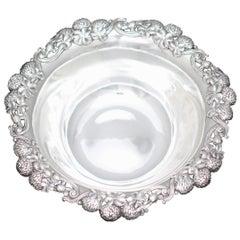 American Sterling Silver Bowl, Tiffany & Co., New York, circa 1950