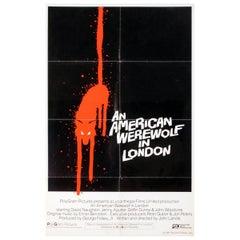 """An American Werewolf In London"" '1981' Poster"