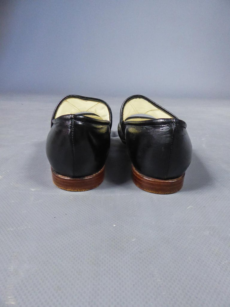 Women's An André Courrèges Couture Pair of Shoes Circa 1967/1970 For Sale