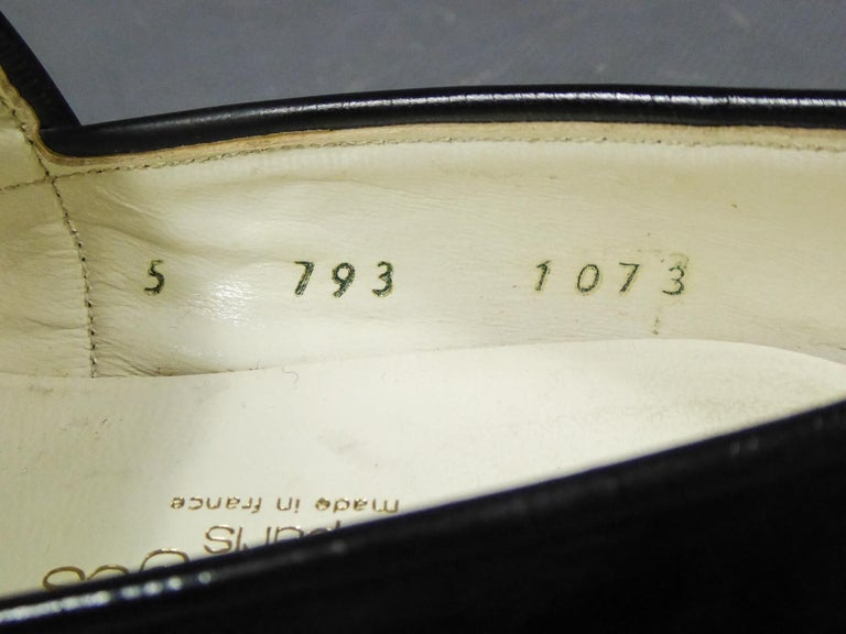 An André Courrèges Couture Pair of Shoes Circa 1967/1970 For Sale 3