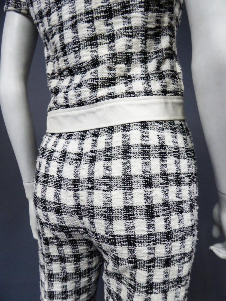 An André Courrèges Pant Suitnumbered 0514895 and 579326 Taty Style Circa 1969 For Sale 9