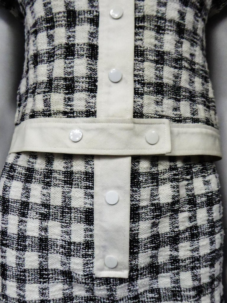 An André Courrèges Pant Suitnumbered 0514895 and 579326 Taty Style Circa 1969 For Sale 4