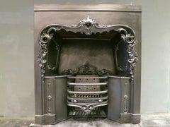 An Antique English Register Grate
