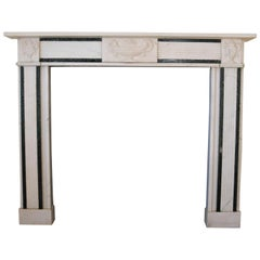 An Antique Georgian Style Marble Fire Surround