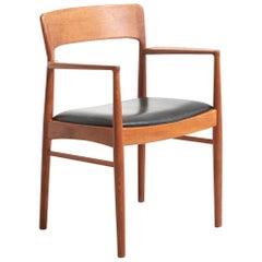 Armchair in Teak Made by K.S. Møbler