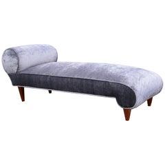 An Art Deco Chaise Lounge
