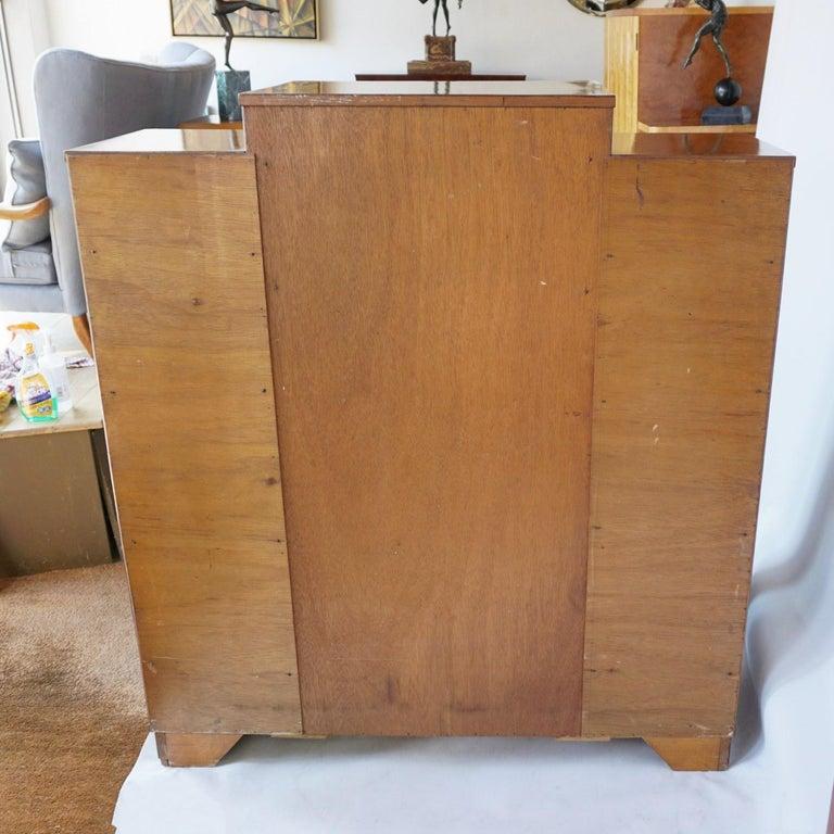 Art Deco Display Cabinet English, Circa 1935 For Sale 7