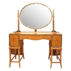 Art Deco Dressing Table by Herbert Richter for Bath Cabinet Makers
