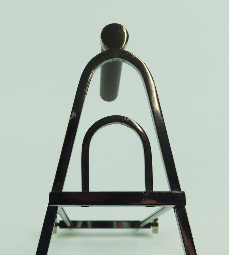 Art Deco Modernist Bottle Holder For Sale 8