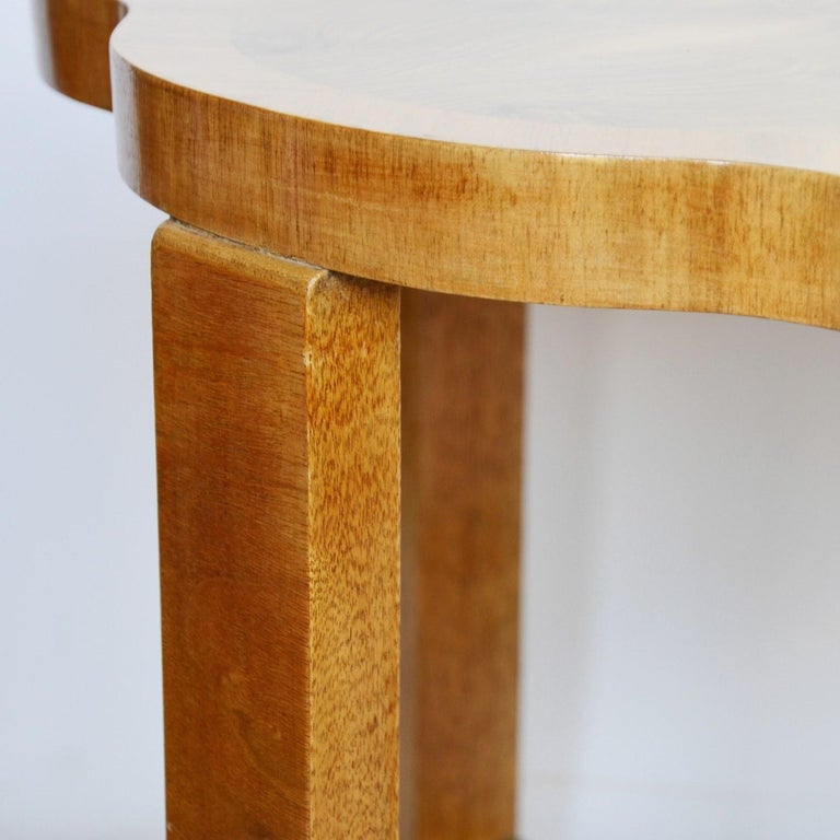 Art Deco Nest of Tables by Harry & Lou Epstein, circa 1930 In Good Condition In Forest Row, East Sussex