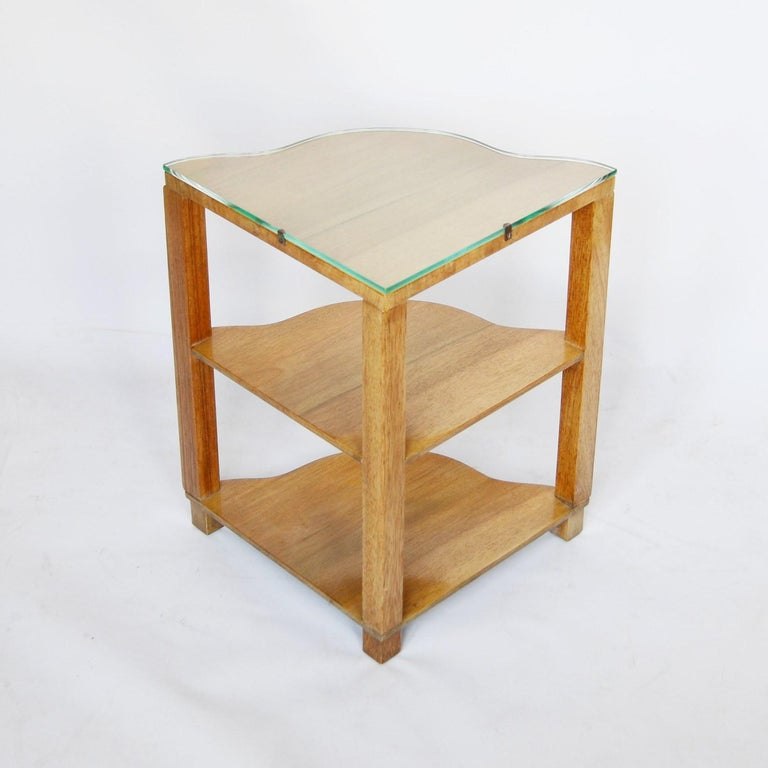 Art Deco Nest of Tables by Harry & Lou Epstein, circa 1930 2
