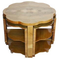 Art Deco Nest of Tables by Harry & Lou Epstein, circa 1930
