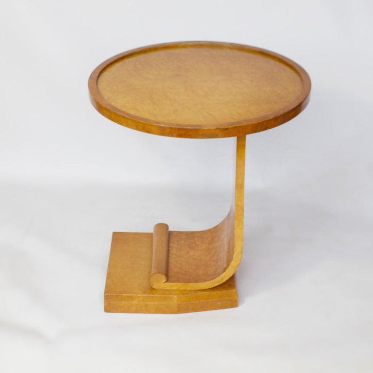 Art Deco Nest of Tables by Hille, Bird's-Eye Maple and Walnut, circa 1930 4
