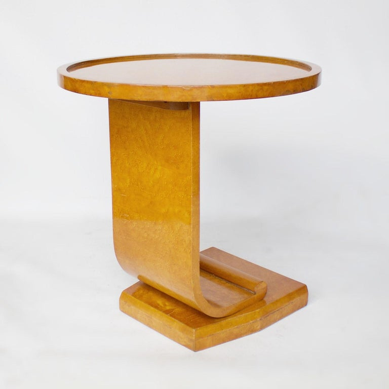 Art Deco Nest of Tables by Hille, Bird's-Eye Maple and Walnut, circa 1930 5