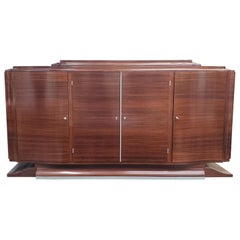 Art Deco Rosewood Buffet, Mid-20th Century