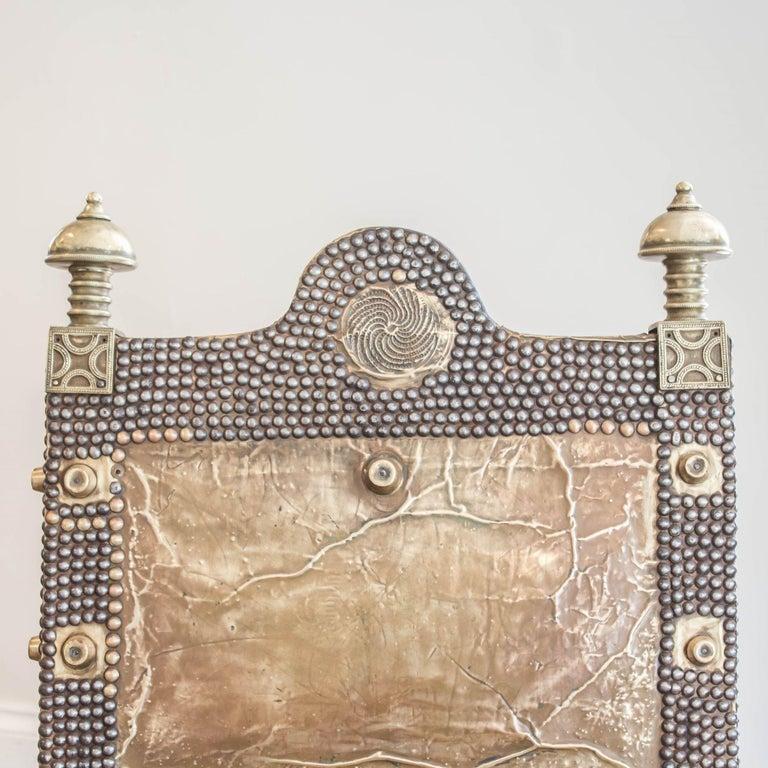 Furniture For Sale Ghana: Asante 'Asipim' Brass Chair, Ghana, 1940s For Sale At 1stdibs