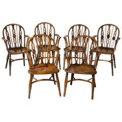 Wood Windsor Chairs