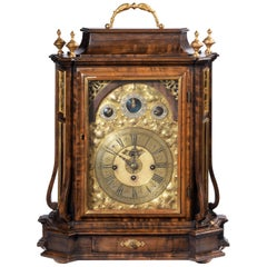 Austrian 18th Century Barque Bracket Clock Grand Sonnerie