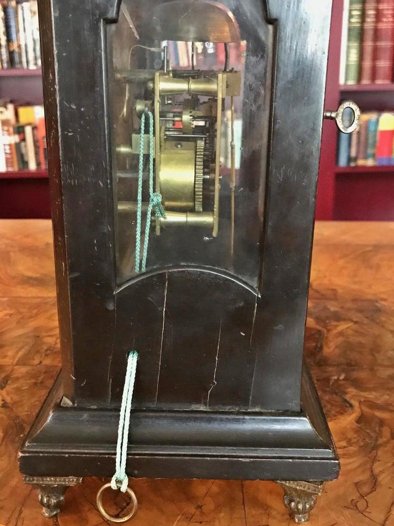 Austrian Signed Bracket Clock, circa 1770 For Sale 4
