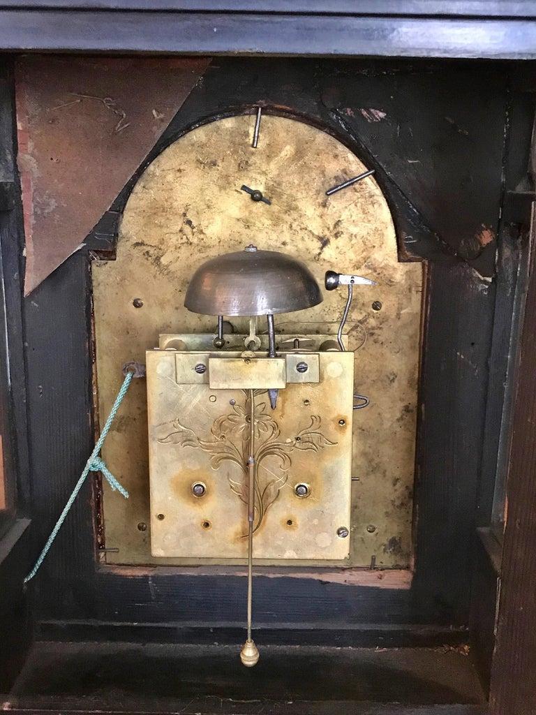 Austrian Signed Bracket Clock, circa 1770 For Sale 6
