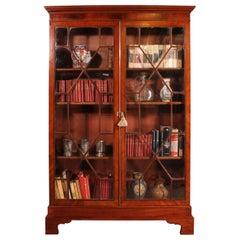 Early 19 Century Mahogany Bookcase, circa 1800, England