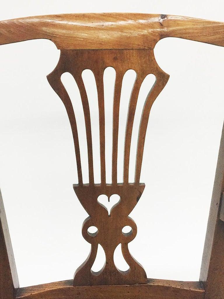 Early 19th Century Dutch Oak Children's Chair For Sale 6