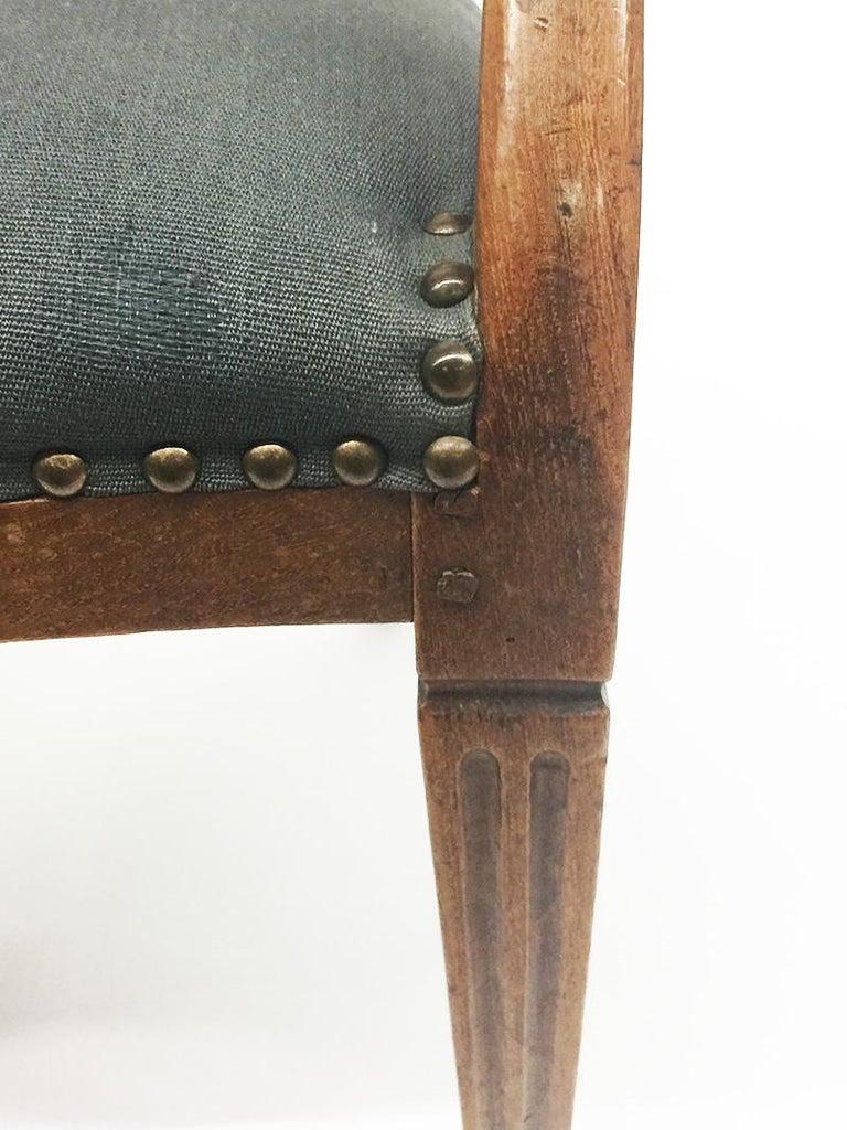 Early 19th Century Dutch Oak Children's Chair For Sale 1
