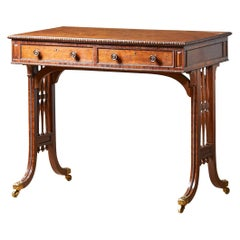 Early 19th Century George IV Writing Table