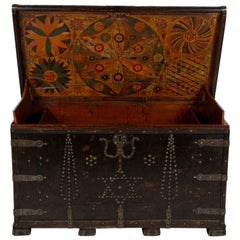 Early 19th Century Northern European Painted Chest