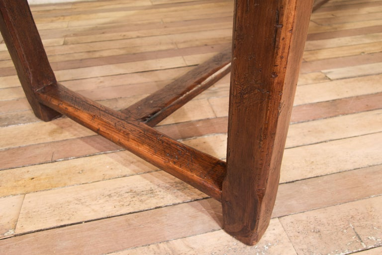 Early 19th Century Oak French Farmhouse Refectory Table 4