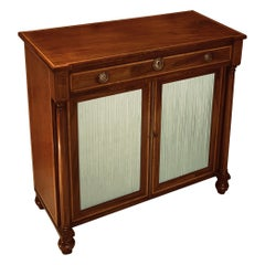 Early 19th Century Regency Period Mahogany Two Door Cabinet