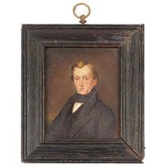 Early 19th Century Portrait Miniature of a Gentleman, circa 1825