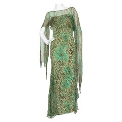 An Early 2000s Elie Saab Jersey Evening Dress