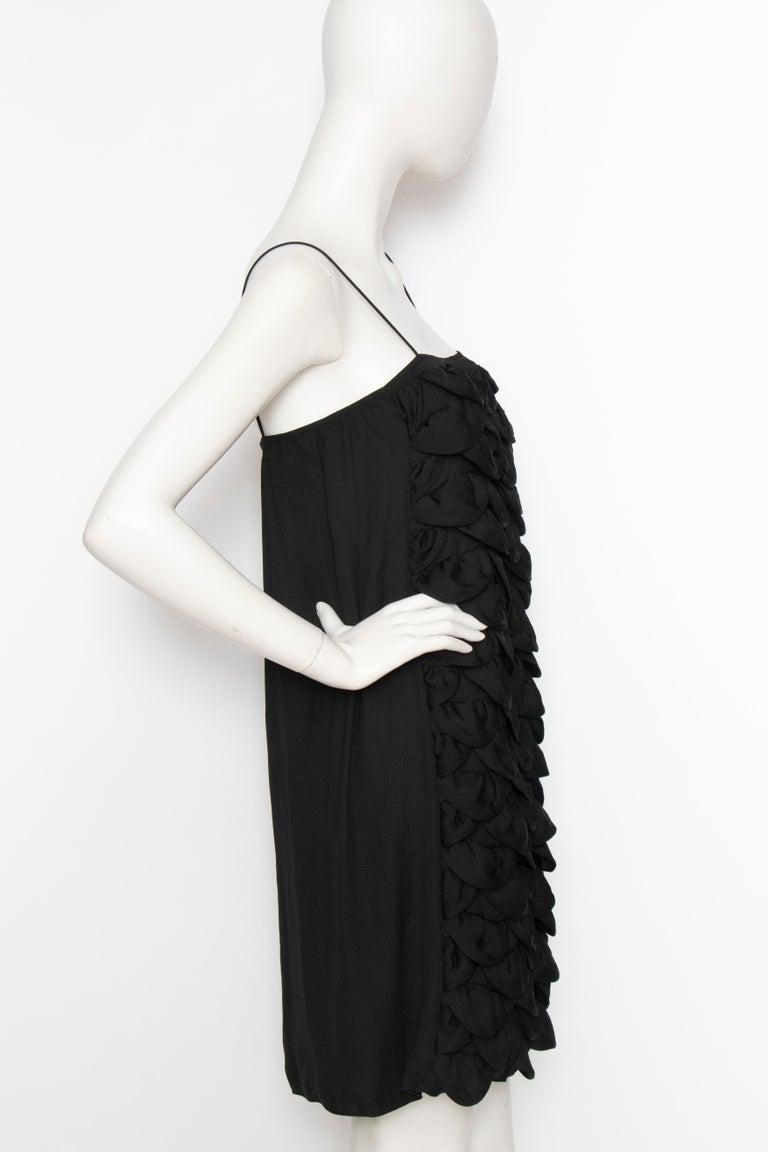An Early 2000s Vintage Chanel Black Babydoll Dress  In Good Condition For Sale In Copenhagen, DK