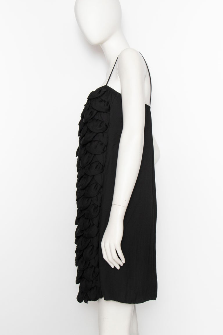 An Early 2000s Vintage Chanel Black Babydoll Dress  For Sale 1