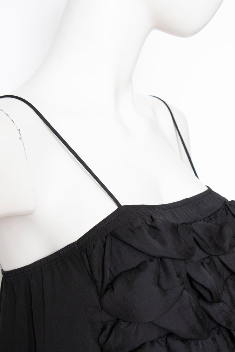 An Early 2000s Vintage Chanel Black Babydoll Dress  For Sale 2
