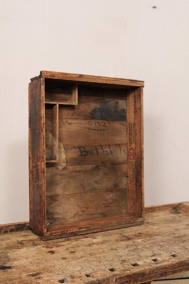 Early 20th Century Wooden Work Bench- Would Make Unique Extra Kitchen Work Space For Sale 2