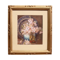 Early 20th Century English Still Life Watercolor