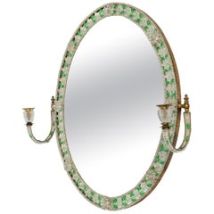 Early 20th Century Glass Mirror