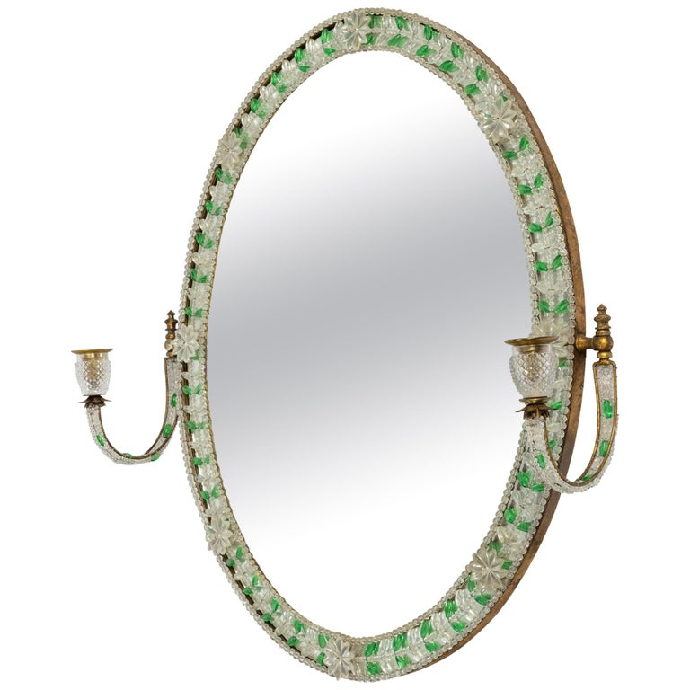 Early 20th Century Glass Mirror For Sale