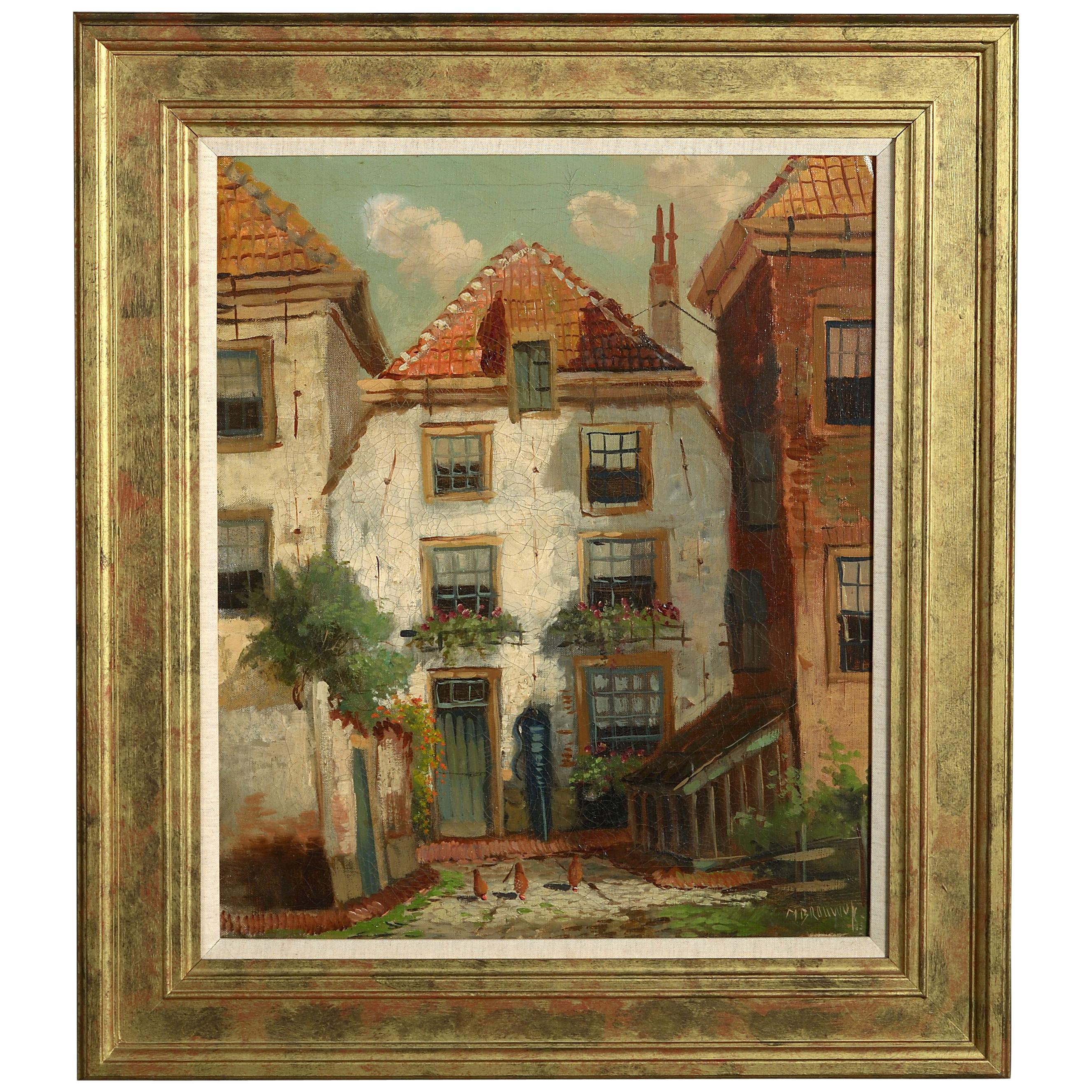 Early 20th Century Impressionist Townscape