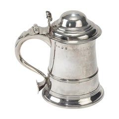 Early George III Silver Tankard