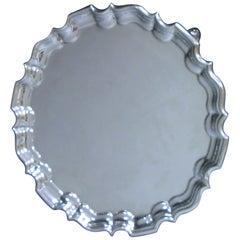 An Edwardian Antique Silver Salver