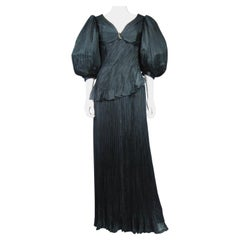 An Emanuel Ungaro French Evening Dress Numbered 295-5-85 Circa 1985/1990