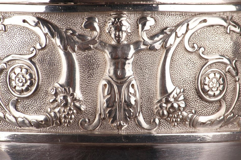 Empire Silver Ewer with its Bowl by Edme Gelez For Sale 2
